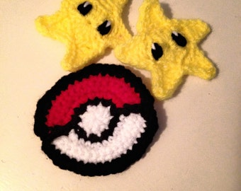 Video Game Hair Clips