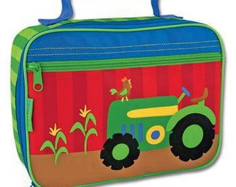 Personalized Stephen Joseph Tractor Lunch Box