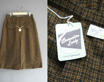 "60s Wool Tweed Skirt New with Tags 28"" Waist"