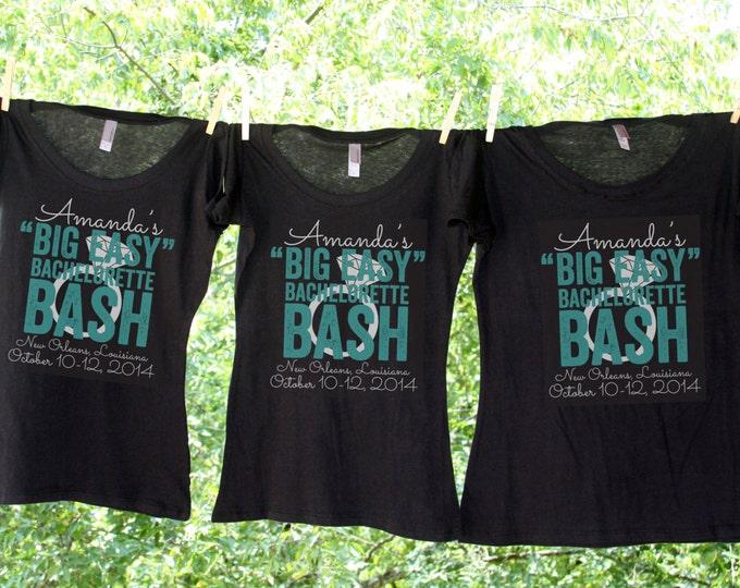 NOLA Bachelorette Bash - Personalized Bachelorette Party Shirts - Sets