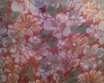 Vintage Honey Scarf