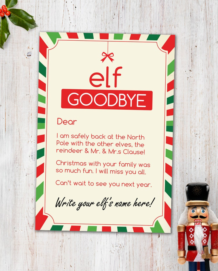 Magic Elf Visit Combo Printable Pack By CleverPrintables