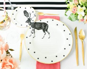 Stag plates set