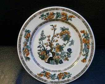 Indian Tree pattern, dinner plate, vintage restaurant ware, diner, cafe