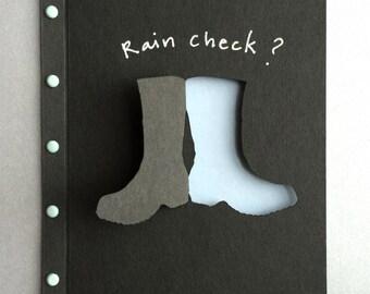 Rain Check (Boots ) Card
