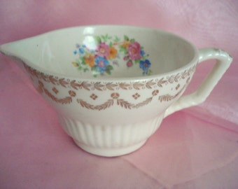 Vintage Creamer Royal China Rosaleen Floral Shabby Cottage Chic Replacement China