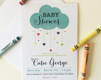 Digital Baby Shower Invitation