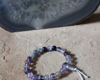 Fluorite Mala/Power Bead Bracelet