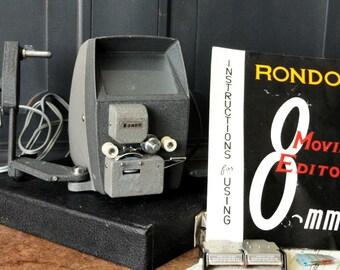 Vintage Rondo 8mm Movie Editior, Electronics, Camera, Collectible