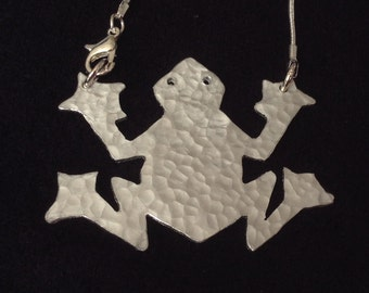 Frog Necklace.
