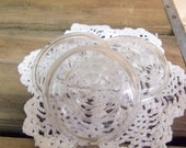 3 Clear Glass Jar Lids for Ball Ideal or Wire Bail Jars Standard or Regular Mouth Size