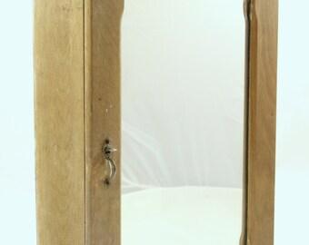 Vintage Wood Medicine Chest Primitive Medicine Cabinet