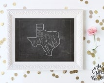 INSTANT DOWNLOAD, Texas State Printable, Handwritten, Don't Mess With Texas, No. 233