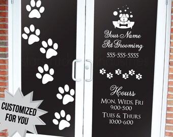 Custom Pet Grooming Groomer Daycare Veterinarian Business