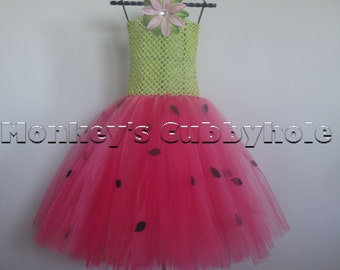 Watermelon Dream Tutu Dress