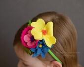 Spring fever headband
