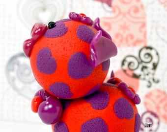 Jen Polymer Clay Piglet Figurine
