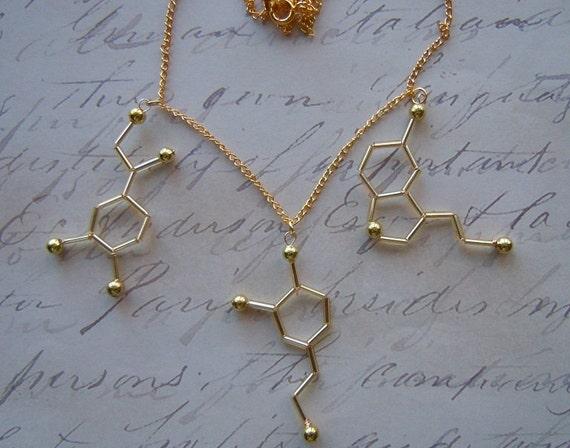 biolojewelry neurotransmitter necklace norepinephrine. Black Bedroom Furniture Sets. Home Design Ideas