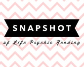 Snapshot of Life In-depth VIDEO,  or MP3 Tarot Card Reading