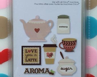 Love You A Latte Cricut cartridge--NEW!