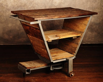 Island / Table / Bar Cart from Vintage Farm Equipment
