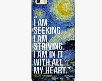 Vincent Van Gogh the Starry Night Painting IPHONE 6s CASE case iPhone 5s case iPhone 6 Plus cases, iPhone 5C cover, iPhone 7 case
