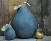 XLarge Chalkboard Pear Gourd