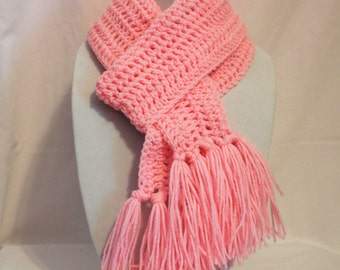 Scarf pink, a soft light pink and warm scarf, FREE SHIPPING beautiful scarf