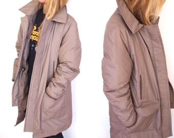 vintage oversized DOWN FILLED winter coat