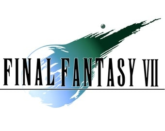 Final Fantasy VII Poster, Video Game Poster