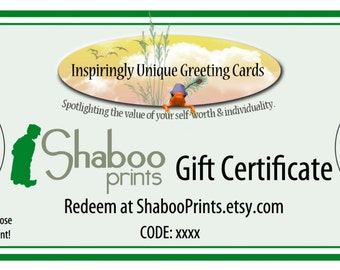 Gift Certificate 15 USD