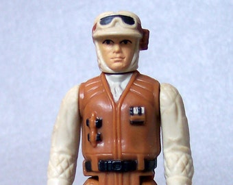 Vintage Star Wars Factory Error Hoth Rebel Soldier Complete C85 Rare