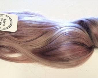 Smokey Lavender Hair, Lauren Conrad, Lavender Hair, Muted Lavender Hair, Festival Hair, Coachella Hair, 18""