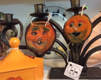 Vintage inspired Pumpkin Ornament