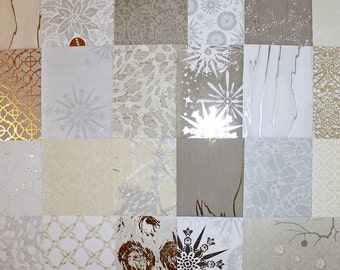 6x6 Rustic Luxe Collection by Recollections*46 Sheets With Metallic Treatments*Christmas Elegance