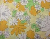 Pillowcase flower 60s bedroom decor 70s hippe style boho prairie cottage camper chic