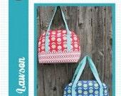 Aeroplane Bag Pattern by Sara Lawson of Sew Sweetness