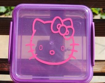 Hello Kitty Personalized Lunch Box Sandwich Keeper