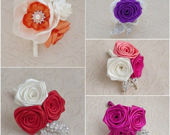 Wedding Boutonniere. Made to order