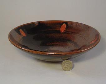 Temmoku bowls on stoneware