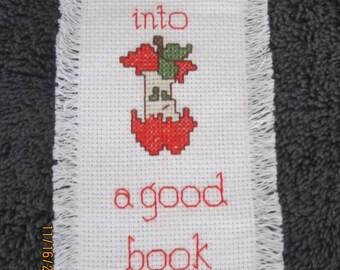 Bite into a Good Book Bookmark