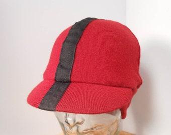 Cycling Cap, Hat, Merino Wool, Earflap