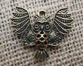 Owl Charm Findings