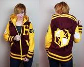 House Lion  -- Handmade Anti-Pill Fleece Hoodie / Sweatshirt