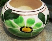 Colorful Glazed Pottery Planter