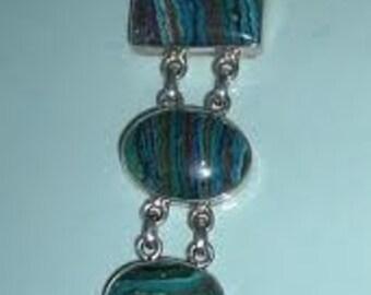 Vintage Calsilica Silver Bracelet