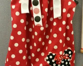Too Cute Minne Mouse Pillowcase Dress