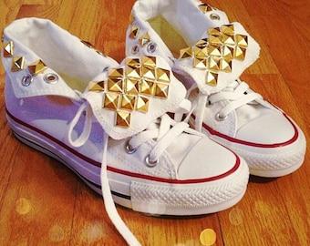 Studded Converse