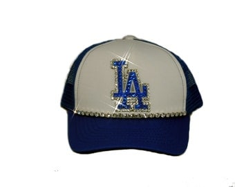Los Angeles Dodgers womens trucker hat