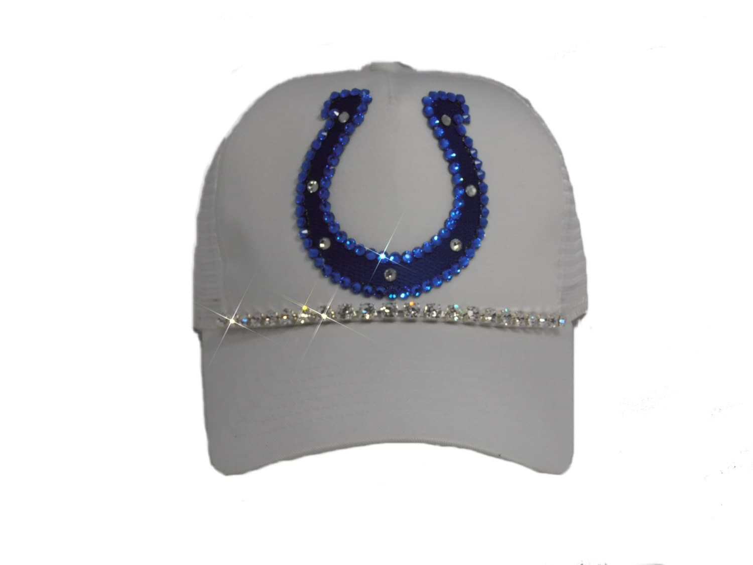 indianapolis colts womens bling trucker hat by timetwochange